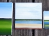 8 Öl auf Leinwand, 3 Objekte 2015
